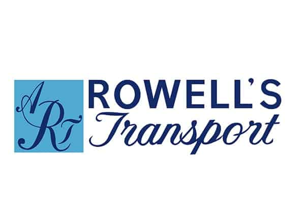 Rowell's Transport Logo