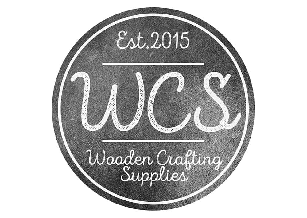 Wooden Crafting Supplies Logo